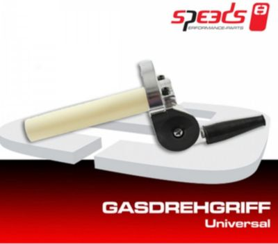 Speeds Universal Gasdrehgriff Gasgriff für 22mm...