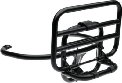 Original Vespa Heckklapp Gepäckträger für Sprint, Primavera in schwarz