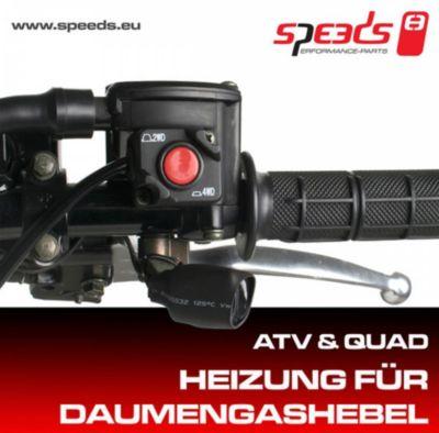 SPEEDS Heizung für Daumengashebel ATV, QUAD