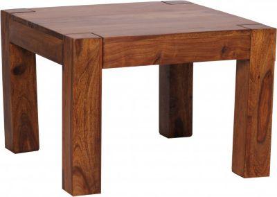 Sheesham Couchtisch Massiv 60 x 60 cm Massivholz