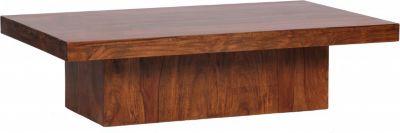 Sheesham Couchtisch Massiv 120 x 70 cm Massivholz