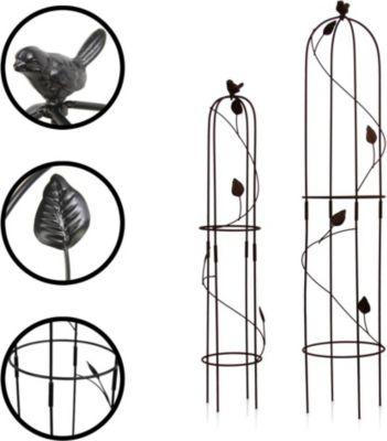 """1PLUS  Obelisken Set """"Harkness"""", 2 Stück, Höhe: 80 und 100 cm, versch. Farben"""