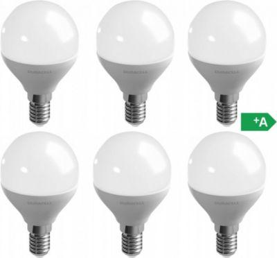 6er Pack E14 LED Leuchtmittel Glühbirne Mini Globe