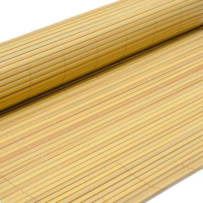 eyepower PVC Sichtschutzmatte 100 x 500 cm Bambus