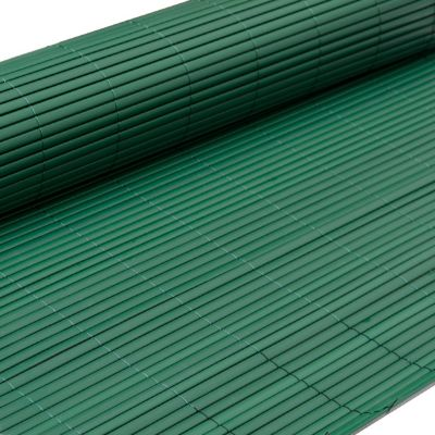 PVC Sichtschutzmatte 90 x 400 cm Grün