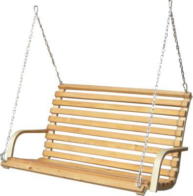 Hängeschaukel / Hollywoodschaukel HMG-50 / nur der Sitz / Holz