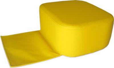 Friseur Kindersitz gelb