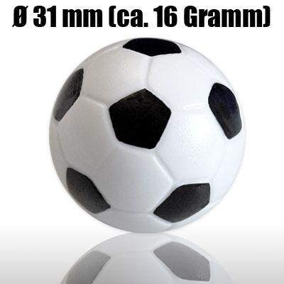 25 Kickerbälle 31mm