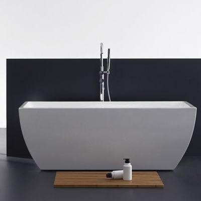 Badewanne Kefalonia weiß Acryl 1700x750x600mm