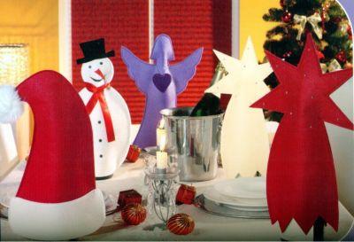 Filz Flaschendeko ´´Mütze´´ Weihnachten Wein Fl...