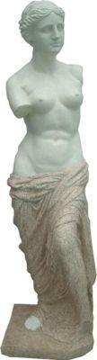 Gartenfigur Frau 116cm Garten Figur Deko Teichfigur Statue Skulptur Dekoration | Garten > Dekoration > Dekofiguren | Stein | Garden Pleasure