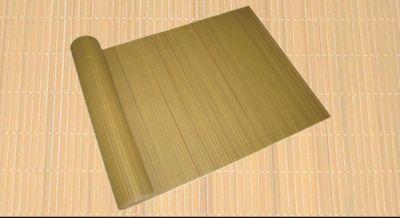 PVC Balkon Sichtschutz 90x1000 bambus Windschutz Garten Terrase Zaun Matte