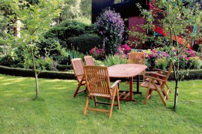 Garten Holz Tisch Ausziehbar Bangkirai Esstisch Terrasse Möbel