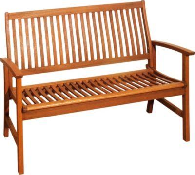 Garten Bank 2 Sitzer Bangirai Holz Parkbank Sitzbank Möbel
