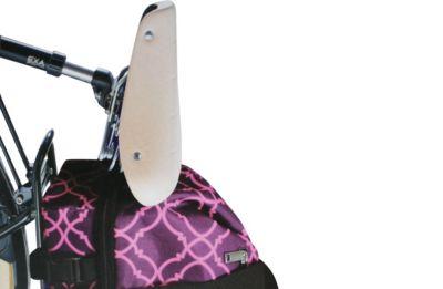Fahrrad Gepäckträger Einkaufstasche Tasche Korb Fahrradtasche Gepäcktasche lila