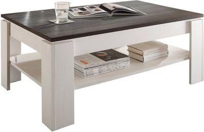 Couch Tisch Universal Anderson White Pine Touchwood Wohnzimmer Beistelltisch