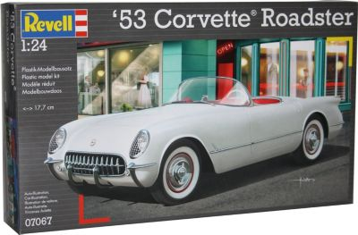 Revell &acute53 Corvette Roadster 1:24 Modellba...