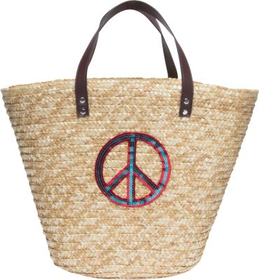 Strohtasche Korbtasche Shopping Beach Bag Tasch...