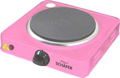 Schäfer Einzelkochplatte 1000W - pink