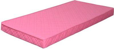 Federkernmatratze 90x200 Bonell Federkern Matratze medium waschbar pink