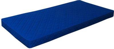 Federkernmatratze 90x200 Bonell Federkern Matratze medium waschbar blau