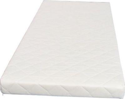 Federkernmatratze 90x200 Bonell Federkern Matratze medium waschbar weiß