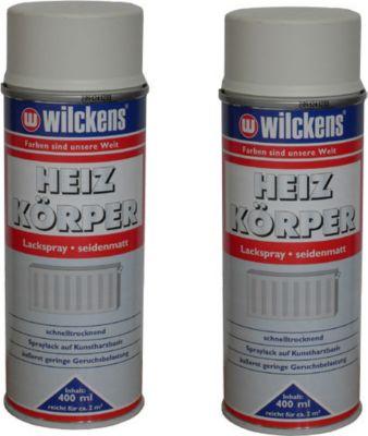 2 x Spraydose Heizkörper Lackspray weiß matt 400ml Alkydharzlack 100ml/1,24? | Baumarkt > Heizung und Klima > Heizgeräte | dynamic24