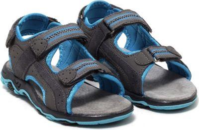 Kinder Sandaletten Gr. 29, blau/grau