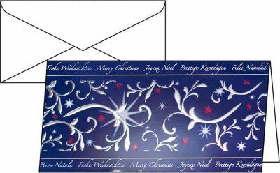 10x Sigel Weihnachts Karten + Brief Umschläge DS384 Weihnachten Grußkarte Karte