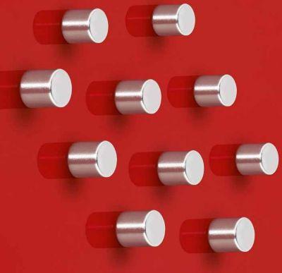10x Sigel Super Dym Magnete C5 Strong GL701 Power Magnet f. Magnetwand Tafel