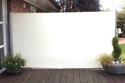 Leco Seitenmarkise Markise 292cm Sichtschutz Windschutz in natur NEU   Garten > Balkon   Leco