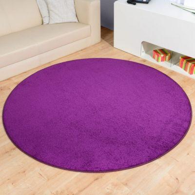 teppich lila rund preisvergleich die besten angebote online kaufen. Black Bedroom Furniture Sets. Home Design Ideas