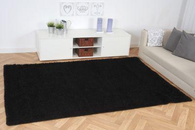 teppich hochflor schwarz preisvergleich die besten angebote online kaufen. Black Bedroom Furniture Sets. Home Design Ideas
