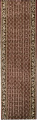 Orient-Teppich Läufer Marokko Bordüre Rot 100 x 550 cm