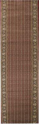 Orient-Teppich Läufer Marokko Bordüre Rot 100 x 900 cm