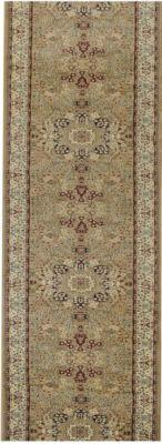 Orient-Teppich Läufer Marokko Grafisch Beige 80 x 1300 cm | Heimtextilien > Teppiche > Orientteppiche | Havatex