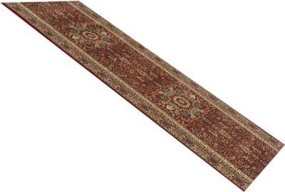 Orient-Teppich Läufer Marokko Grafisch Rot 80 x 750 cm