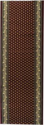 Orient-Teppich Läufer Marokko Klassisch Rot 80 x 1300 cm