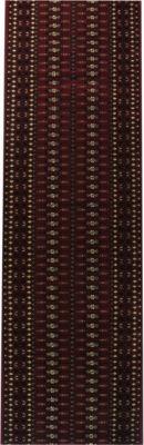 Orient-Teppich Läufer Marokko Sterne Rot 80 x 1600 cm | Heimtextilien > Teppiche > Orientteppiche | Havatex
