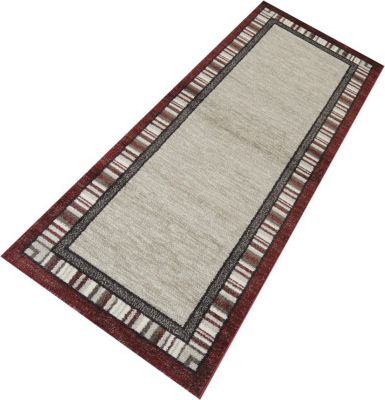 Teppich Läufer Casco Bordüre Rot 80 x 550 cm | Heimtextilien > Teppiche > Sonstige-Teppiche | Havatex