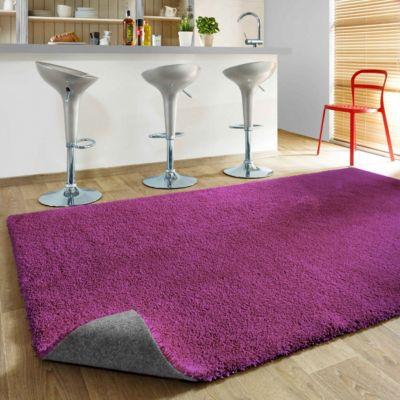 Komfort Shaggy Teppich Happy Wash lila 80 x 160 cm | Heimtextilien | Havatex