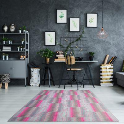 luxus-schlingen-teppich-magic-light-luxus-schlingen-teppich-magic-light-pink, 87.90 EUR @ plus-de