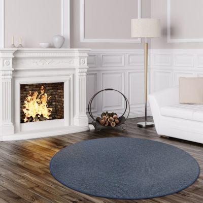 teppich blau rund preisvergleich die besten angebote online kaufen. Black Bedroom Furniture Sets. Home Design Ideas