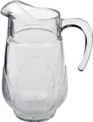 34691 ´´Aspen´´ Getränke Limo Saft Krug ´´Aspen´´, Glas, 1,3 Liter, transparent (1 Stück)