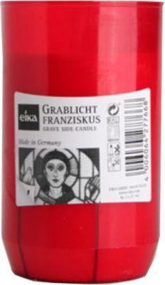 Eika Franziskus Grablicht, Kompositions-Öllicht, ohne Deckel, rot (1 Stück)