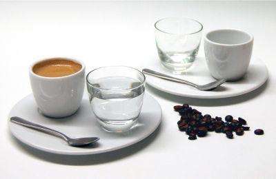 Espresso Set ?Nice?, Porzellan, weiß, 8-teilig (1 Set)