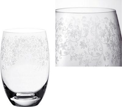 Glas / Kelch ´´Chateau´´ mit filigraner Gravur (1 Stück)