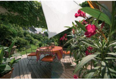 SunSail Sonnensegel ADRIA´´, 185g/m², Dreieck, 5x5x5m, weiß´´