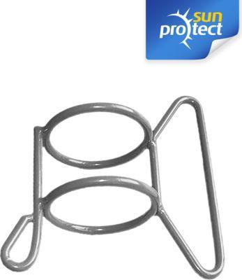 sunprotect SPT83231 Schiebegriff, Montage Zubehör für Sonnensegel Stahlmast, grau (1 Stück) | Garten > Sonnenschirme und Markisen > Sonnensegel | Grau | Sunprotect