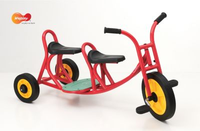 Weplay KM5504 Roller Dreirad Taxi mit Pedalen, ...